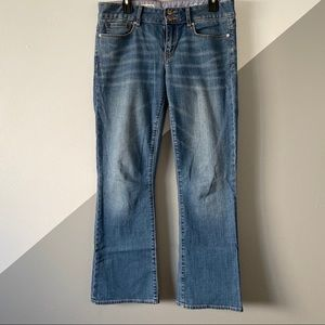 Gap 29 / 8 Perfect Boot Cut Jeans Denim Mid Rise